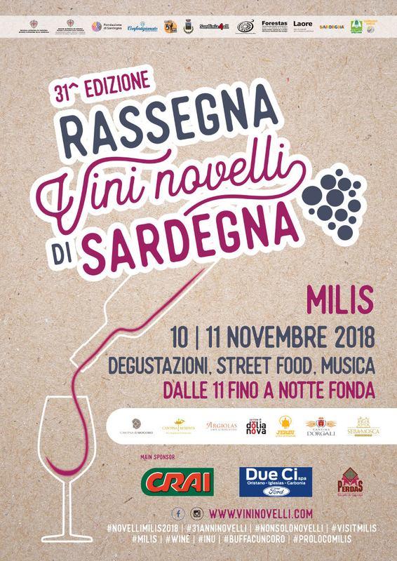 31^ Rassegna dei vini novelli di Sardegna