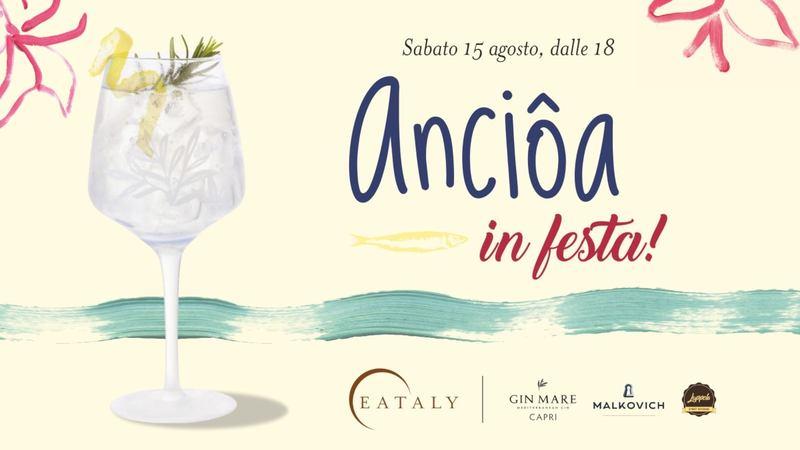 Ferragosto con Anciôa in Festa a Eataly Genova
