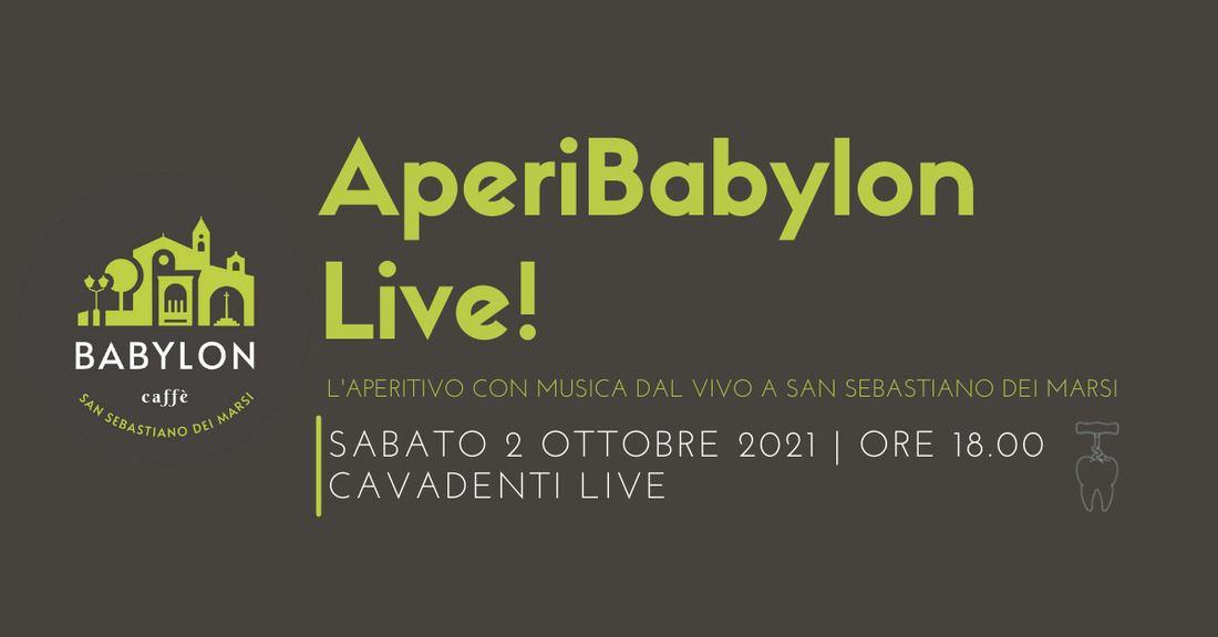 AperiBabylon Live nel Parco Nazionale d'Abruzzo