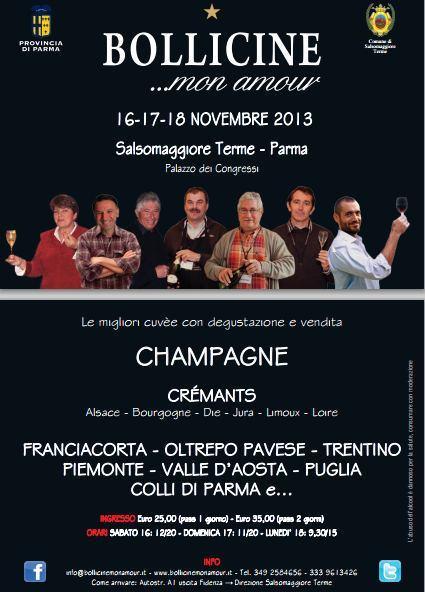 Bollicine... Mon Amour 2013 a Salsomaggiore Terme