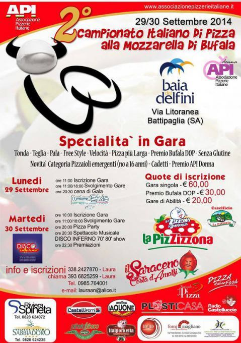 Campionato Italiano di Pizza alla Mozzarella di Bufala