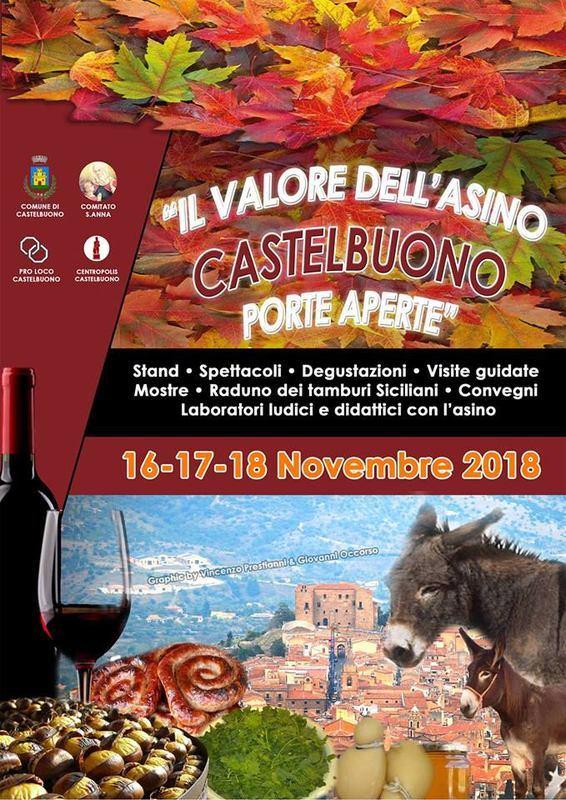 Il valore dell'Asino a Castelbuono (PA)