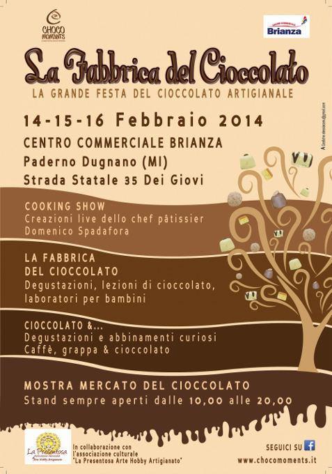 La Fabbrica del Cioccolato di ChocoMoments fa tappa a Paderno Dugnano per San Valentino