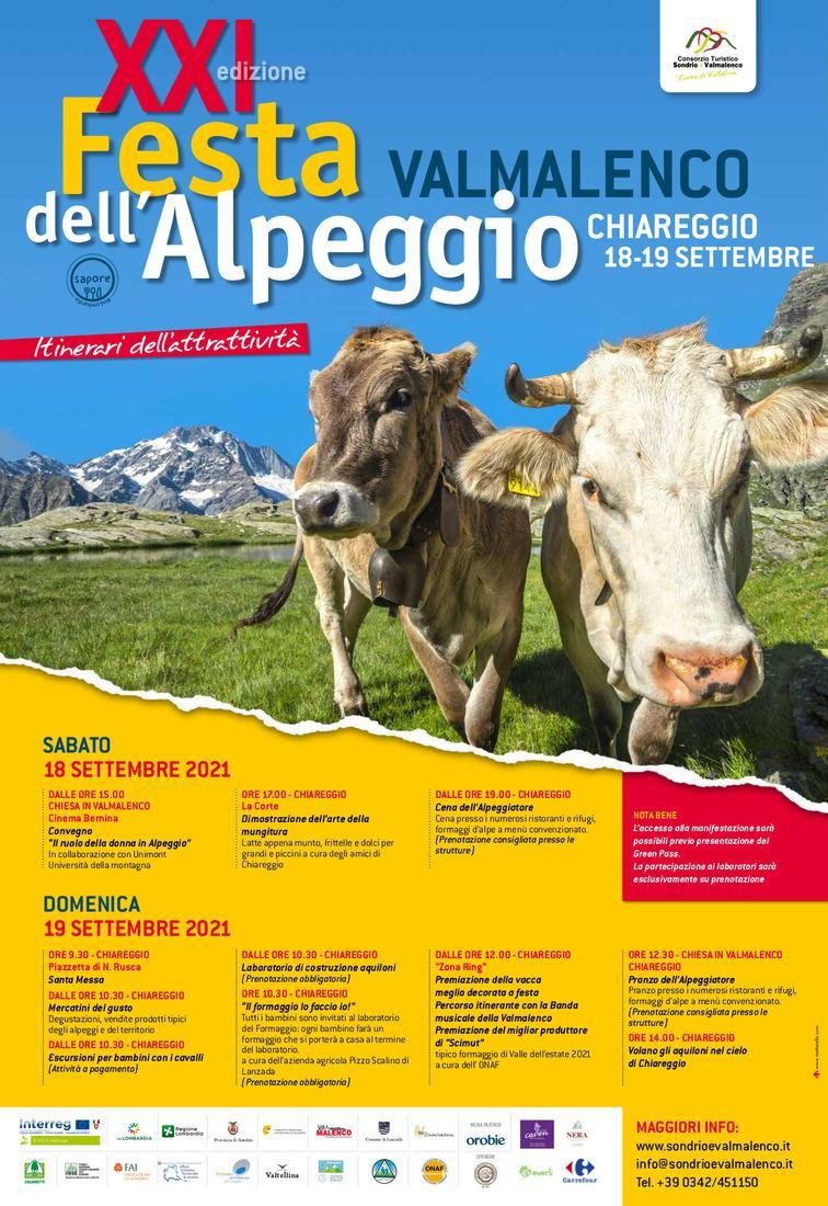 Festa dell'Alpeggio a Chiareggio in Valmalenco