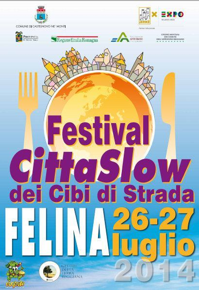 Festival Cittaslow dei Cibi Strada a Felina