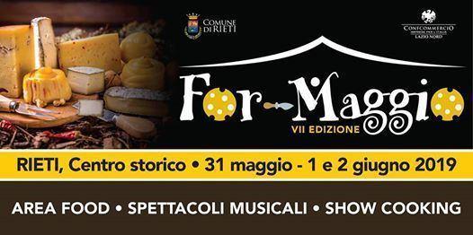 ForMaggio 2019 a Rieti