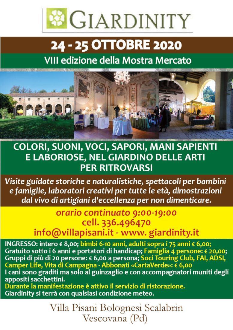 Giardinity Autunno - Villa Pisani Bolognesi Scalabrin ***ANNULLATO***