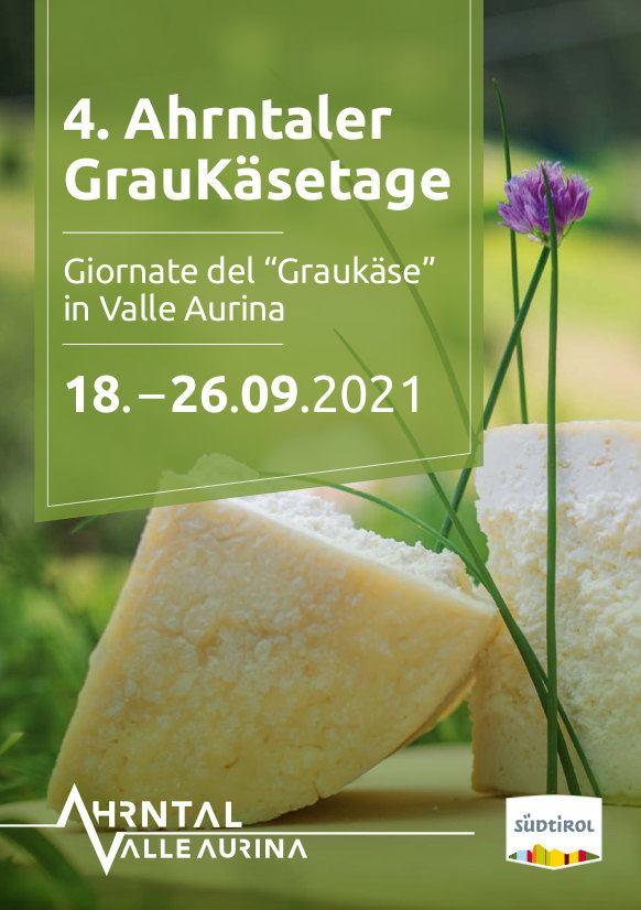 Giornate del Graukäse in Valle Aurina