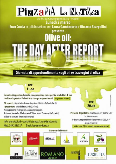 Olive oil: The day after Report