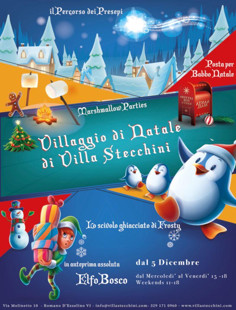 Villaggio del Natale a Villa Stecchini
