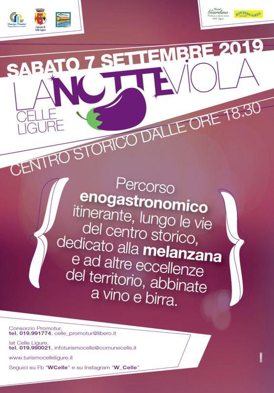 Notte Viola a Celle Ligure