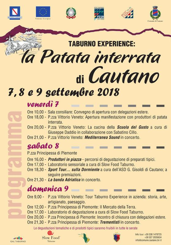 Taburno Experience: la patata interrata di Cautano