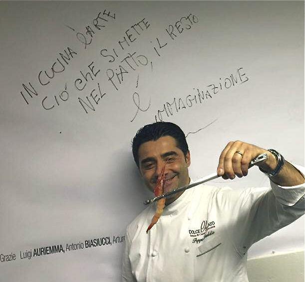 Alla pizzeria Morsi e Rimorsi Oriente e Occidente con Ignacio Ito e Peppe Daddio