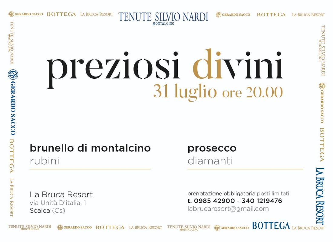 Preziosi diVini. Degustazione di Vini e Sfilata di Gioielli