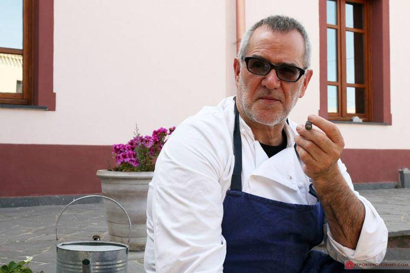 """I pranzi del sabato: Casa Lerario """"L'acqua, la terra, l'aria e il...cuoco"""""""