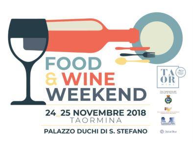 Food and Wine Weekend 2018 a Taormina