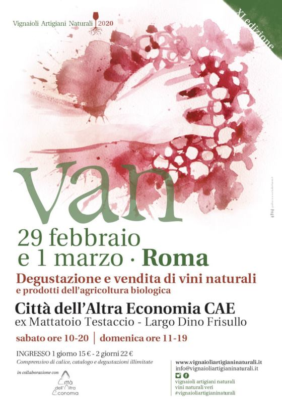 VAN - Vignaioli Artigiani Naturali