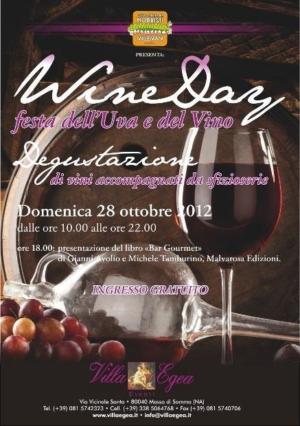 Wine Day a Villa Egea nel Parco Nazionale del Vesuvio