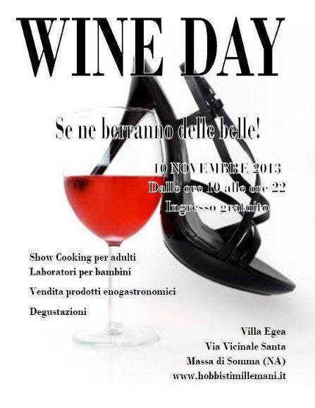 Wine Day 2013 a Villa Egea nel Parco Nazionale del Vesuvio