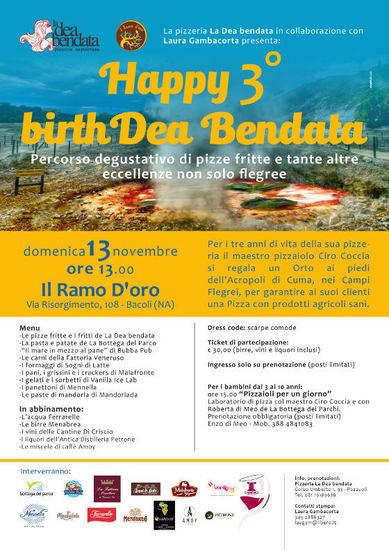 Happy 3^ BirthDea Bendata