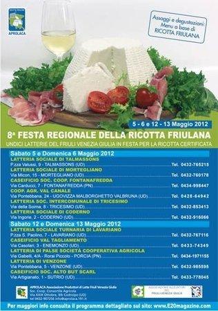 8° Festa Regionale della Ricotta Friulana