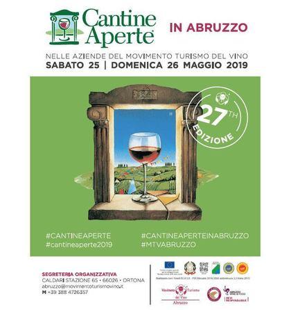 Cantine Aperte 2019 in Abruzzo