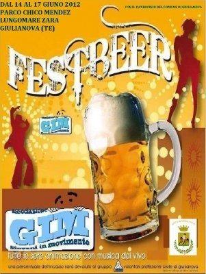 Beer Fest Giuglianova 2012, Festa della Birra e dei Prodotti Tipici Abruzzesi