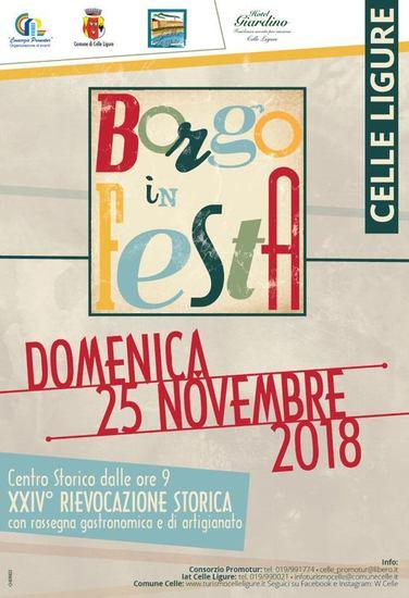 Borgo in Festa 2018 - Celle Ligure