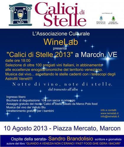 Calici di Stelle 2013 a Marcon, Venezia