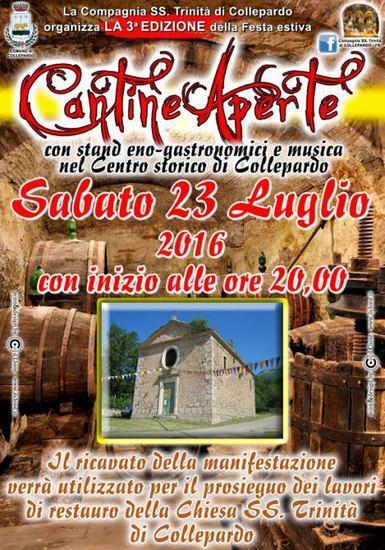 Cantine Aperte a Collepardo - 3^ edizione