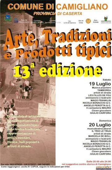 XIII edizione Arte Tradizioni e Prodotti Tipici