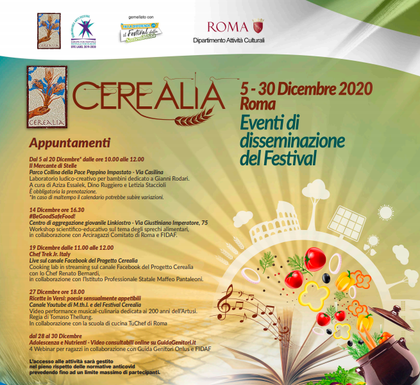 Cerealia 2020, La Festa dei Cereali. Cerere e il Mediterraneo