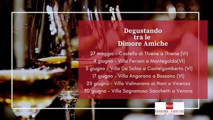 Degustando tra le Dimore Amiche del Veneto