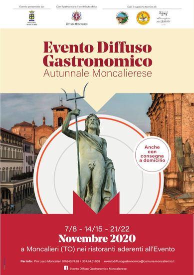 Evento Diffuso Gastronomico Autunnale Moncalierese