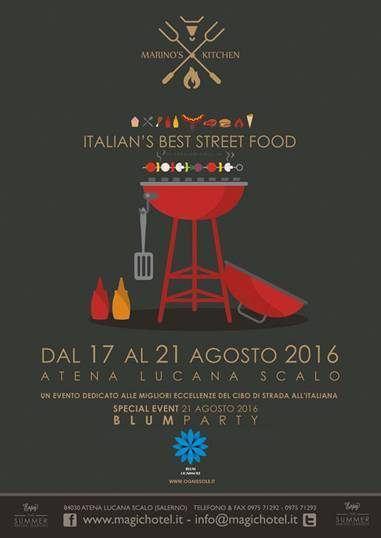 La festa estiva dello Street Food al Magic Hotel