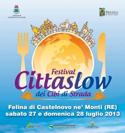 Festival Cittaslow dei Cibi di Strada a Felina (RE)