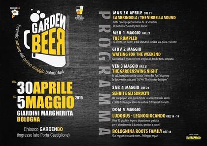Garden Beer ai Giardini Margherita di Bologna