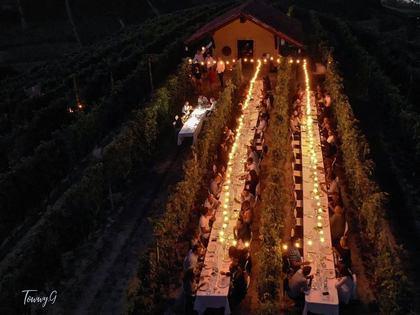 La Luna e il Ciabot - la cena in vigna di Langhe e Roero