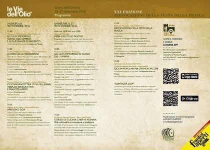 Le Vie dell'Olio 2016 - Rievocazione della Festa della Frasca