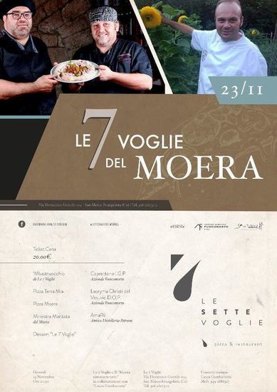 Le 7 voglie del Moera