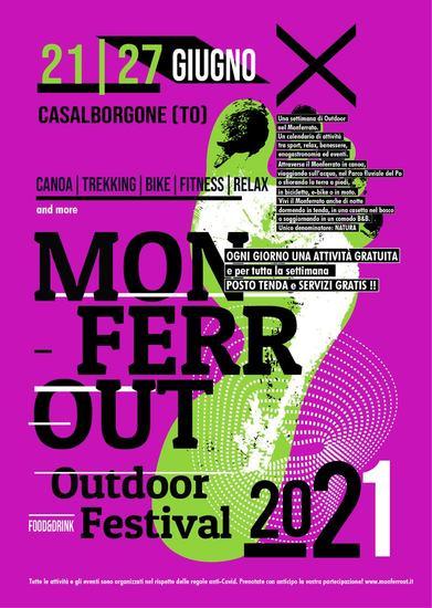 MonferrOut, Outdoor Festival