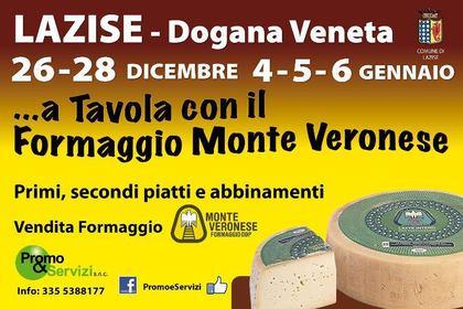 A Tavola con il Formaggio Monte Veronese a Lazise