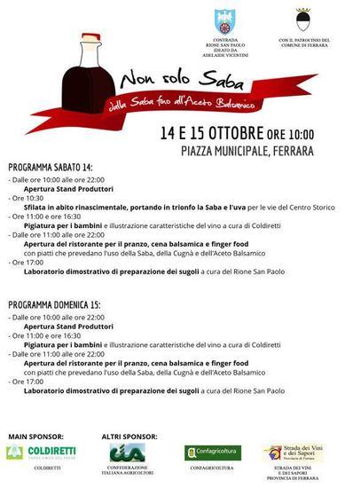 Non solo Saba a Ferrara IV edizione