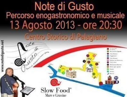 Note di Gusto a Palagiano (TA)