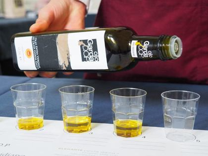 L'olio Garda DOP all'Olio Officina Festival