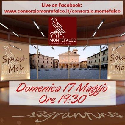 Come in Umbria: Sagrantino Splash Mob