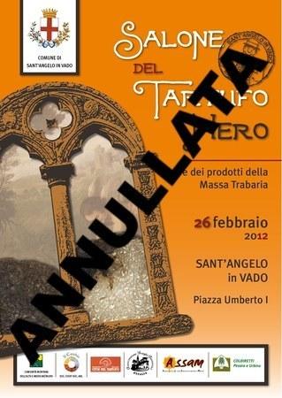 Salone del Tartufo Nero a Sant'Angelo in Vado