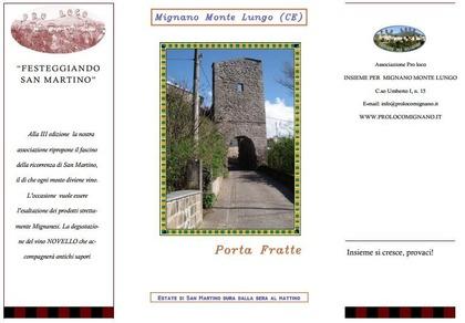 Inno al Novello 2012 a Mignano Monte Lungo
