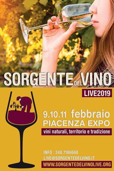 Sorgentedelvino LIVE 2019