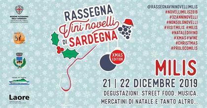 Rassegna dei Vini Novelli Milis - Christmas Edition